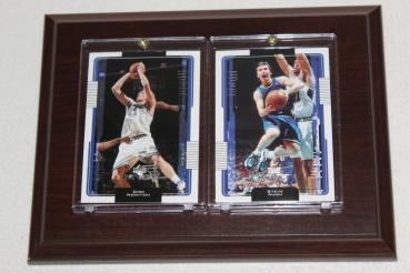 Dallas Mavericks Steve Nash / Dirk Nowitzki Trading Card Sport Plakette NBA
