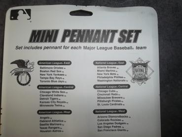 MLB Mini Wimpel Set