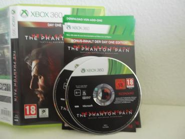 Metal Gear Solid V - Phantom Pain - Day One Edition X Box 360