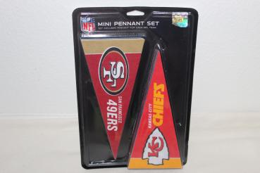 NFL Mini Wimpel Set