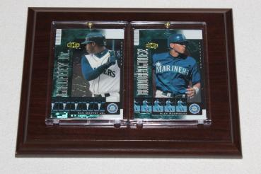 Seattle Mariners Ken Griffey jr. / Alex Rodriguez Trading Card Sport Plakette MLB