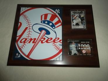 New York Yankees Logo Sport Plakette MLB