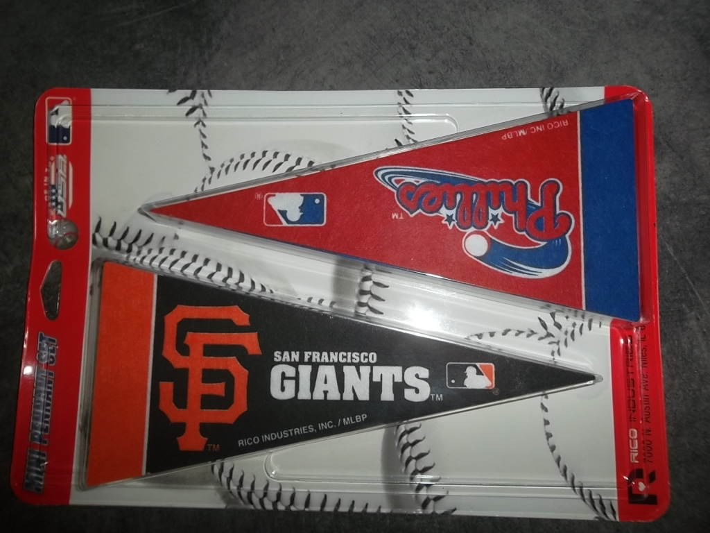 Rico Industries Inc Baseball Mini Pennant Set