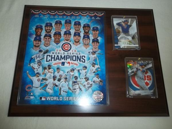 Chicago Cubs - World Series Winner 2016 Sport Plakette MLB