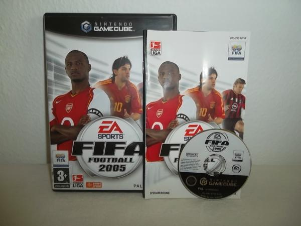 FIFA Football 2005 Nintendo Game Cube
