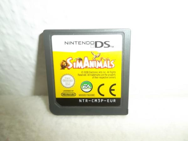 Sim Animals Nintendo DS