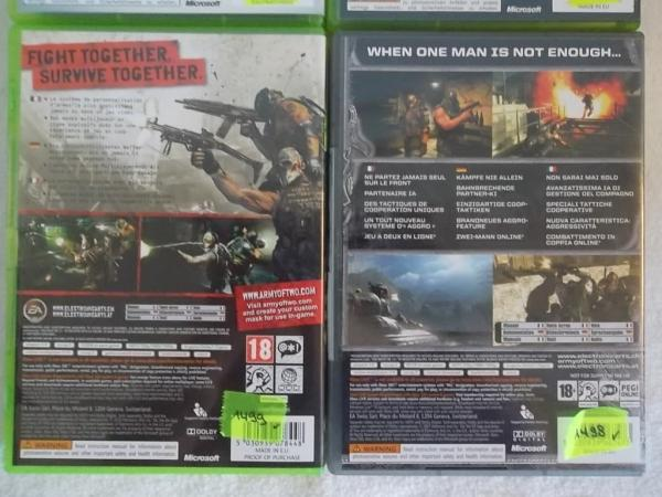 Action Shooter Set X Box 360