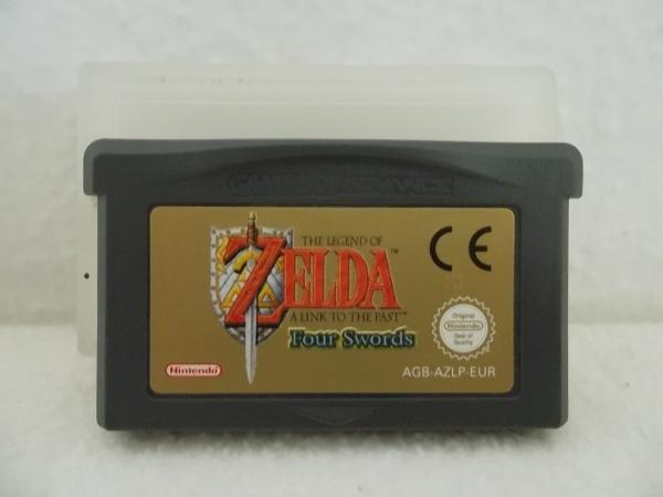 The Legend of Zelda: Link to the past Four Swords Gameboy Advance
