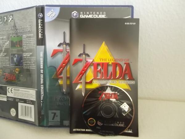 The Legend of Zelda: Collectors Edition Nintendo Game Cube